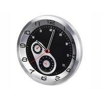Часы «Скорость» с термометром и гигрометром