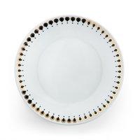 Комплект из десертных тарелок La Redoute MELLAH единый размер белый