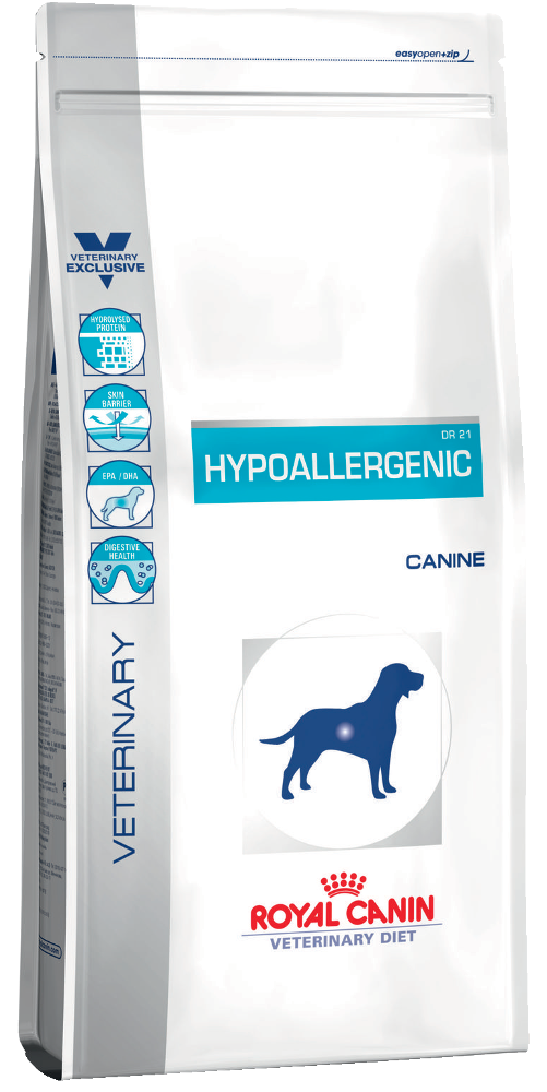 Hypoallergenic корм royal canin 14kg