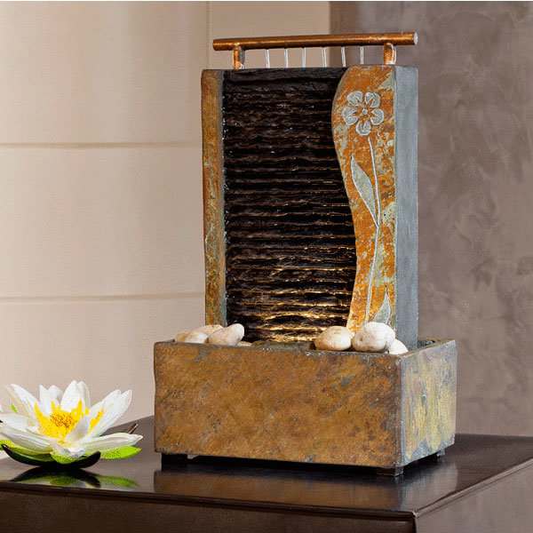 Декоративный комнатный фонтан