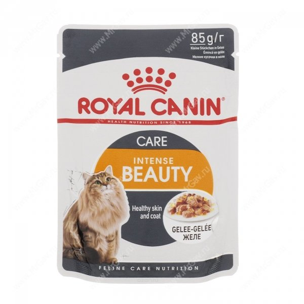 Корм royal canin intense beauty в соусе