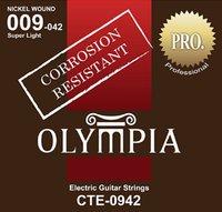 Olympia Cte 1152 - Струны для электрогитары
