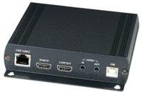 Передатчик SC&T HKM01T дополнительный (для комплекта HKM01) HDMI, Audio, RS232 и сигнал ИК управления (HDMI KVM) по Ethernet до 150м (CAT5e), до 180м