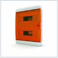 Щит встраиваемый 24 модулей оранжевая дверь Tekfor - BVO 40-24-1
