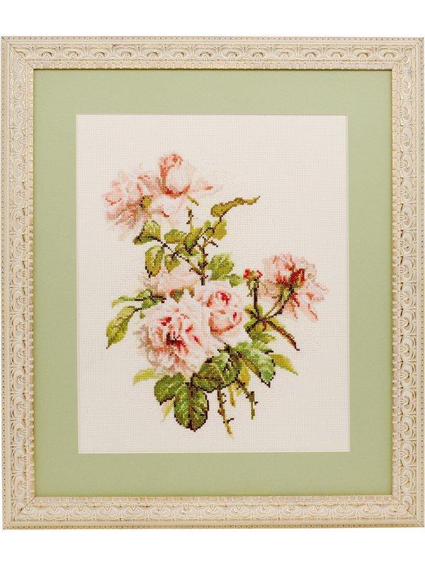 Набор для вышивания крестом розы