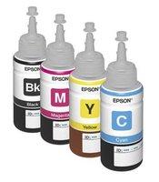 Оригинальные чернила для Epson L312 (70 мл, 4 цвета)