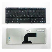 Клавиатура TopOn Asus N10, N10A, N10C, N10E, N10J, N10JC, Eee PC 1101 Series. Плоский Enter. Без рамки. PN: 0KNA-1J2RU01, V090262BK1., TOP-100400, черный