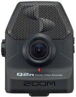 Портативный ручной цифровой аудио и видеорекордер Zoom Q2n, Цвет Черный