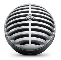 SHURE MOTIV MV5-LTG цифровой конденсаторный микрофон для записи на компьютер и устройства Apple, цвет серый