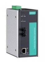 Медиа-конвертер MOXA PTC-101-M-ST-LV 10/100BaseT(X) to 100BaseFX converter, multi-mode, ST, dual redundant power (20-70 VDC)