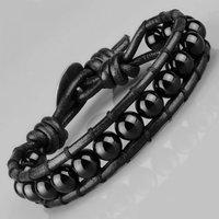 Плетеный браслет Everiot LNS-3025 в стиле Чан Лу из агата (Размер: 19 см)