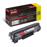 Картридж лазерный Комус 83A CF283A для HP черный совместимый