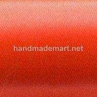 Атласная Лента Skroll, Ширина: 25 мм, Оранжевая