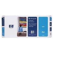 HP Голубая печатающая головка 81и устройство очистки (C4951A)