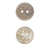 Пуговица, цвет: 371 светло-бежевый, 15 мм, 100 штук, арт. ГНГ14285