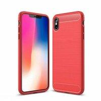 Противоударный чехол для iPhone XS Max красный