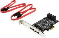 SATA RAID контроллер St-Lab PCI-E SATA 6G Raid Card (4 Channels) A-520