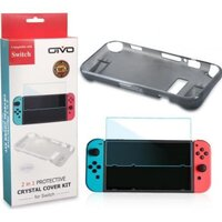 Набор аксессуаров OIVO Crystal Cover Kit для Nintendo Switch