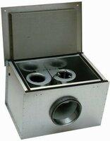 Шумоизолированный вентилятор Systemair KVK DUO 125