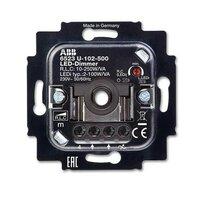 Механизм поворотного светорегулятора-переключателя ABB Коллекции BJE, 100 Вт, 6512-0-0335