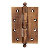 Петля дверная универсальная Melodia латунь 522A 102 мм матовая бронза