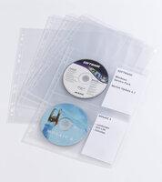 Durable D5238-19 Карманы с перфорацией для CD/DVD дисков