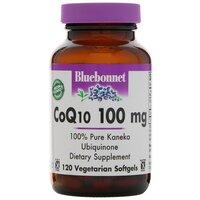 Bluebonnet Nutrition CoQ10, 100 мг, 120 желатиновых капсул