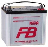 Аккумулятор автомобильный Furukawa Battery FB Super Nova 60 А/ч 550 А обр. пол. 55D23L Азия авто (232x173x225) без бортика 2019г