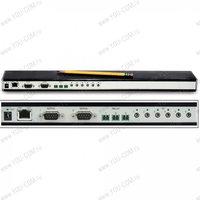 Сетевой адаптер Global Cache [GC-100-18R] (Взаимодействие по Lan (TCP/IP) с устройствами по: ИК (инфракрасный сигнал), Com порту, реле.)
