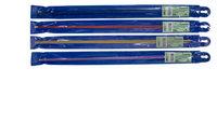 Спицы Gamma, прямые, цветные, 3 мм, 35 см, цвет: синий, арт. CNK