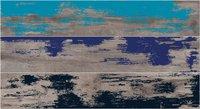 Керамогранит ABK Dolphin List. Grey Enamel Rett Mix3 декор 20x120