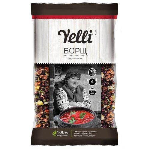 Yelli Борщ по-украински 60 г горячий шоколад la festa горький 10 шт по 22 г