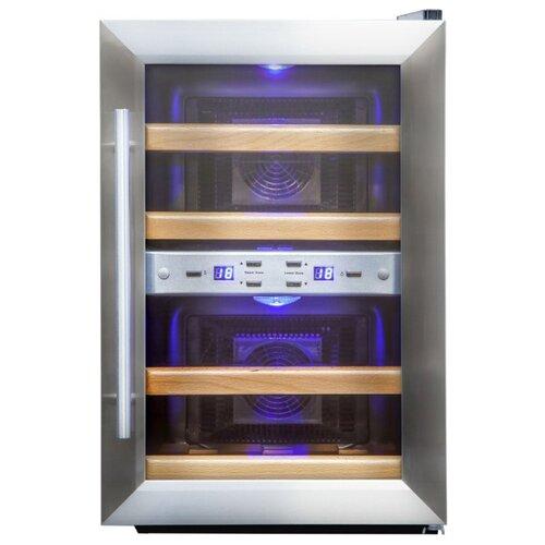 Винный шкаф Cold Vine C12-TSF2 cold vine винный шкаф 33 л на 12 бутылок термоэлектрический серый c12 tsf2 cold vine