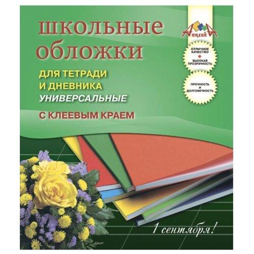 Апплика Обложки для дневника и апплика обложки для учебников