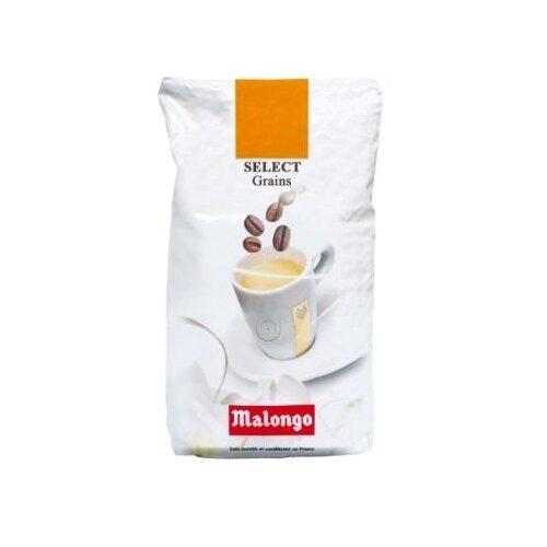 Кофе в зернах Malongo Select