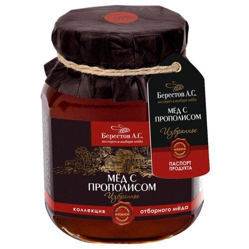 Мед Берестов А.С. Избранное С мед натуральный берестов а с липовый лес 240г