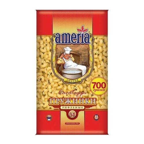 Ameria Макароны Пружинки макаронные изделия ameria спагетти 4кг