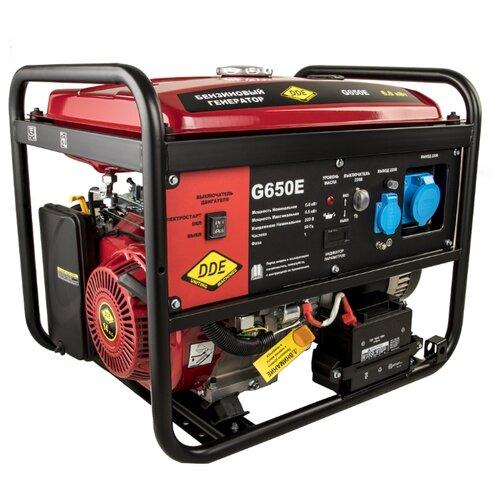 Бензиновый генератор DDE G650E