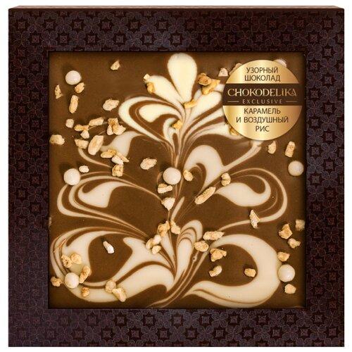 Фото - Шоколад Chokodelika Узорный тёмный шоколад chokodelika с добавлением ягод годжи смородины и брусники 75 г