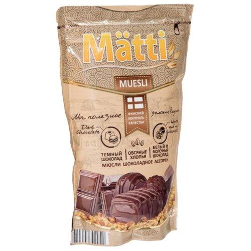 Мюсли Matti хлопья и шарики matti батончик мюсли кокос и молочный шоколад 6 шт по 24 г