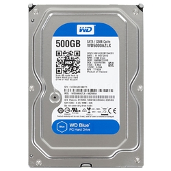 Жесткий диск Western Digital WD Blue Desktop 500 GB (WD5000AZLX)