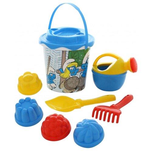 Фото - Набор Полесье Смурфики: полесье набор игрушек для песочницы 468 цвет в ассортименте