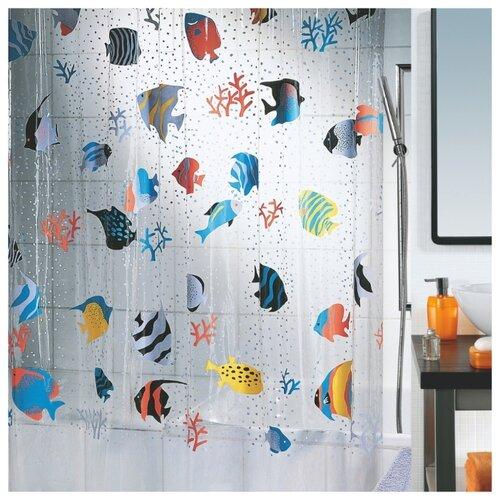Штора для ванной Spirella Fish