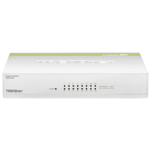 Коммутатор TRENDnet TEG-S16D модуль расширения trendnet teg mgbsx