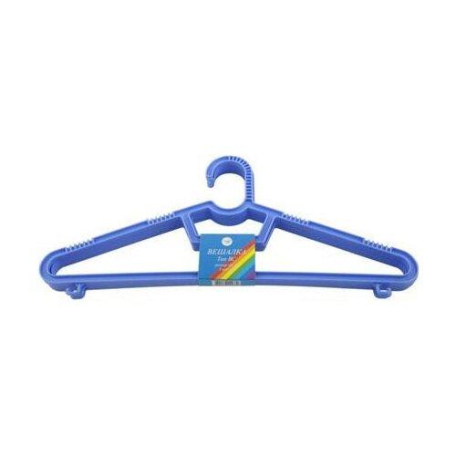 Вешалка ПОЛИМЕРБЫТ Набор вешалка для верхней одежды полимербыт 52 54