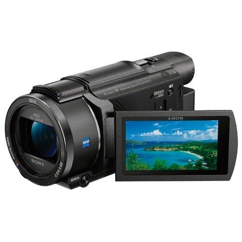 Фото - Видеокамера Sony FDR-AX53 видеокамера sony hdr cx405b black 30x zoom 9 2mp cmos 2 7 os avchd mp4 [hdrcx405b cel]
