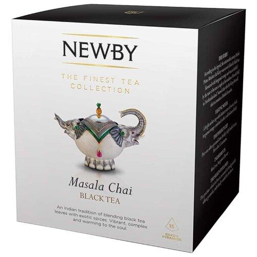 Чай черный Newby Masala chai в