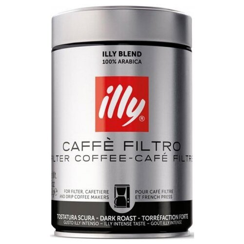Кофе молотый Illy Caffe Filtro illy espresso кофе молотый средней обжарки 125 г