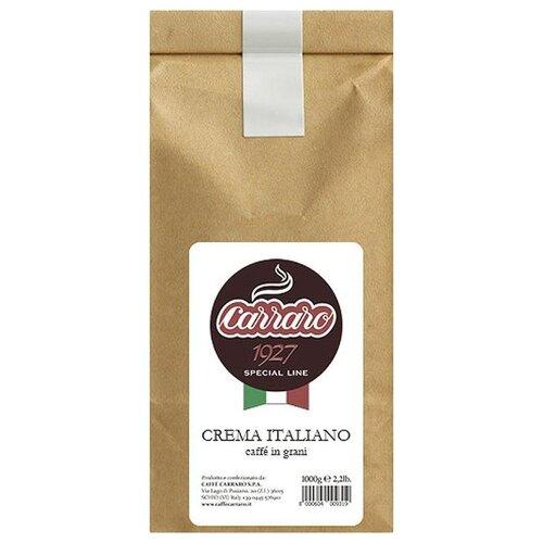 Кофе в зернах Carraro Crema