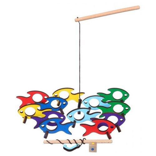 деревянные игрушки Рыбалка Деревянные игрушки